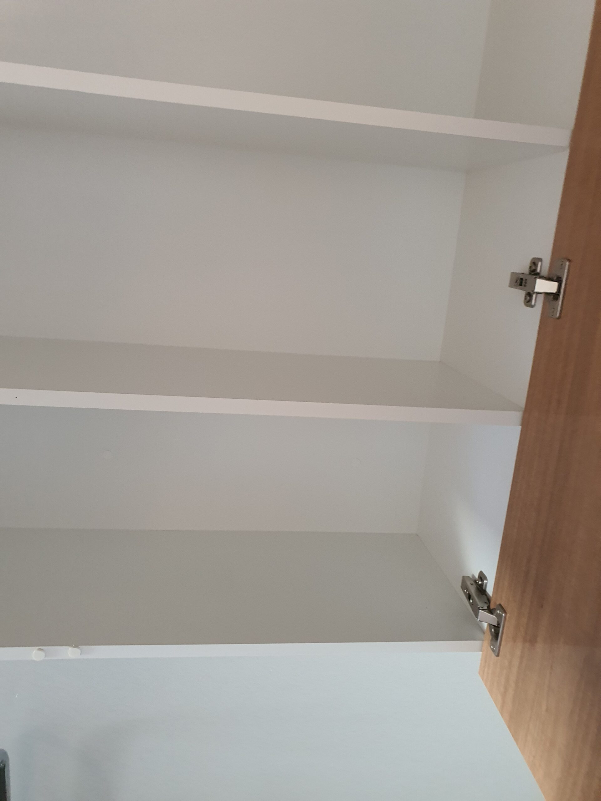 Cupboards cleaning